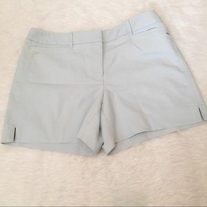 White House Black Market Light Blue Shorts 8